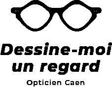 Logo dessine moi un regard opticien caen